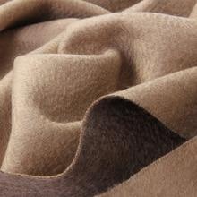 BOHOBOCO winter fashion new design double faced cashmere pashmina luxury quality thick warm women infinity shawl