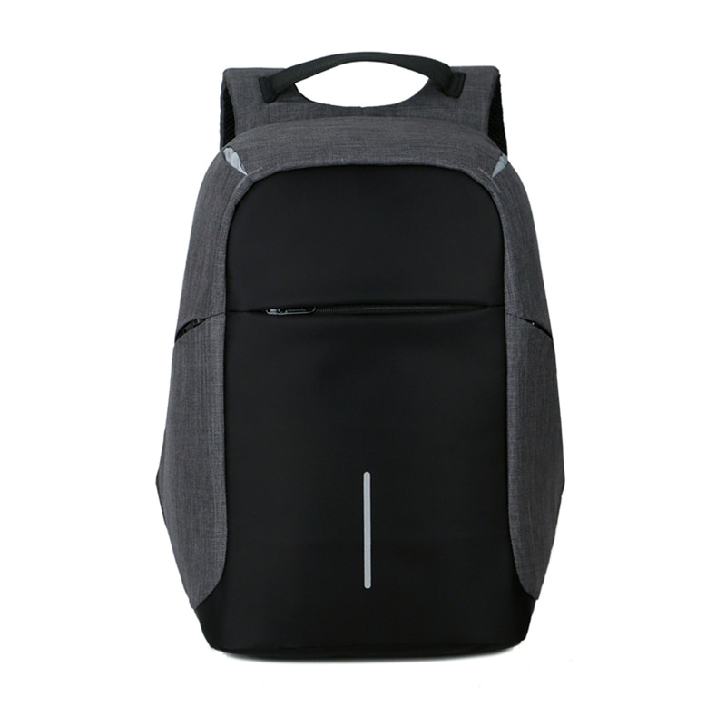 все цены на Female and men Backpack Anti theft Oxford Casual Laptop Backpack With USB Charge Waterproof Travel Bag Computer Bag Bagpack