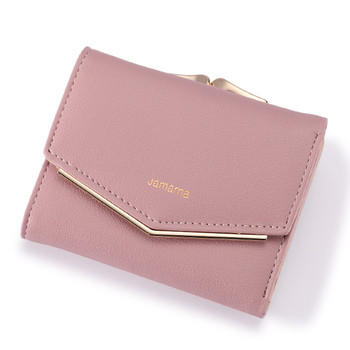 Women's Elegant Leather Wallet Bags and Wallets Women's Wallets Color: Pink