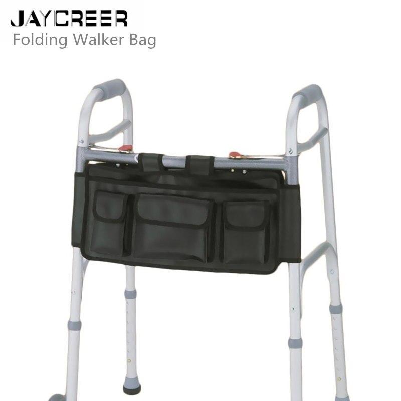 Rollator Beutel Bett Schiene Organizer In Jaycreer Klapp Walker Tasche Rollstuhl Seite Pouch Isolierte Flasche Halter Schlüssel Halter Lange Ausgezeichnete QualitäT