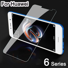 Tempered Glass For Huawei Honor 6c Pro 6a 6x Protective Glass Honer Honor6c Honor6a Honor6x 6 C X A A6 X6 C6 Pro 6cpro Protect(China)