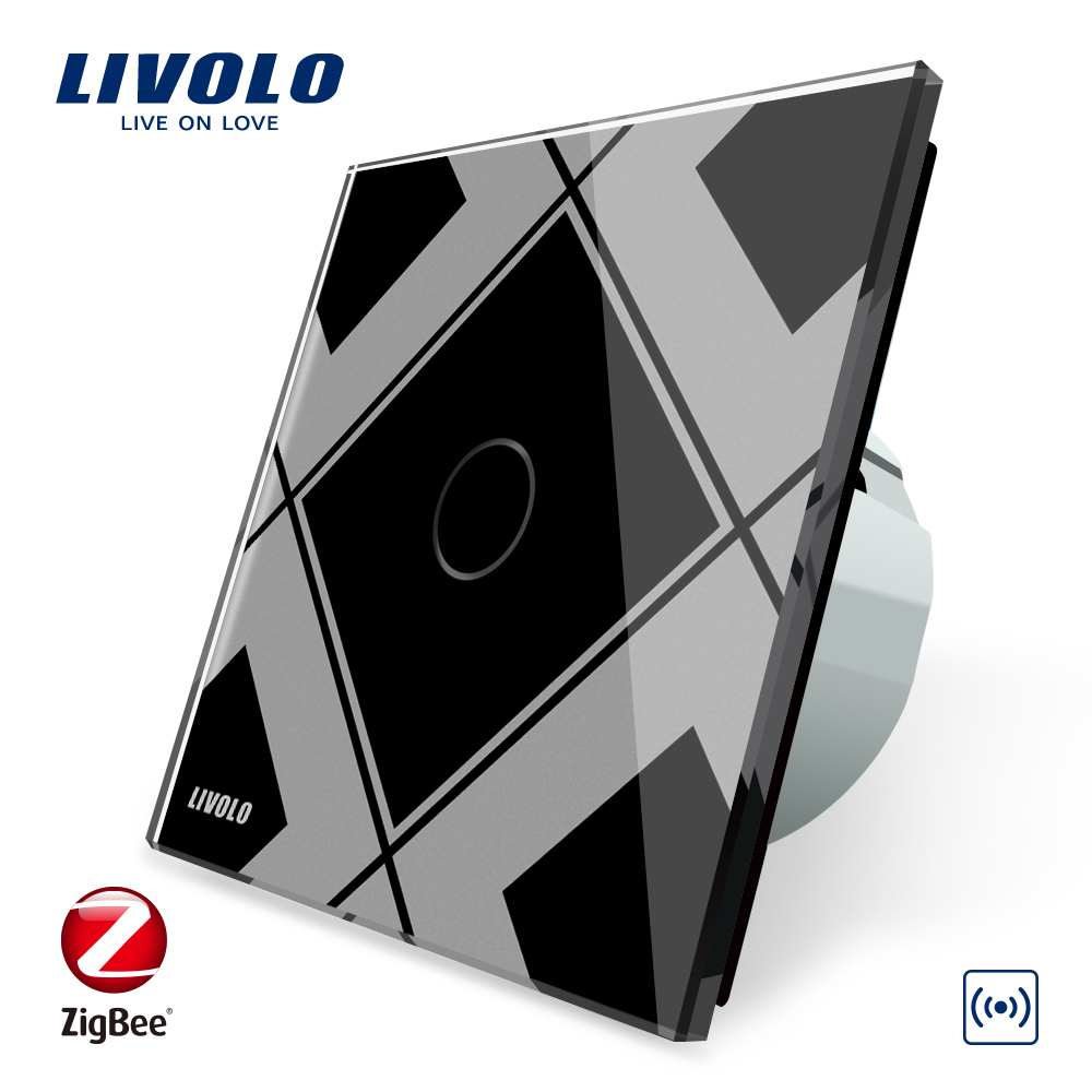 LIVOLO Passerelle, Maison Intelligente WiFi Sans Fil Contrôleur par SmartPhone, Travail en Partenariat Avec Zigbee Interrupteur, C700ZW-12