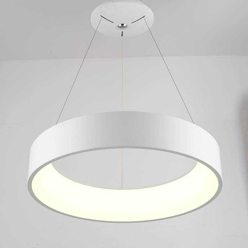 Moderna iluminación colgante llevado Real Lampe Lamparas para la ...