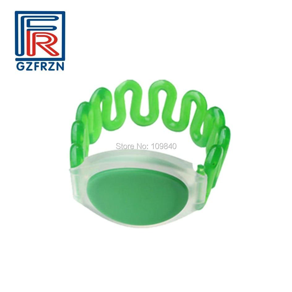 1000pcs 13.56Mhz UID Changeable MF 1K S50 NFC Bracelet RFID Wristband Waterproof For Sauna Spa Resort Hotel Swimming Pool