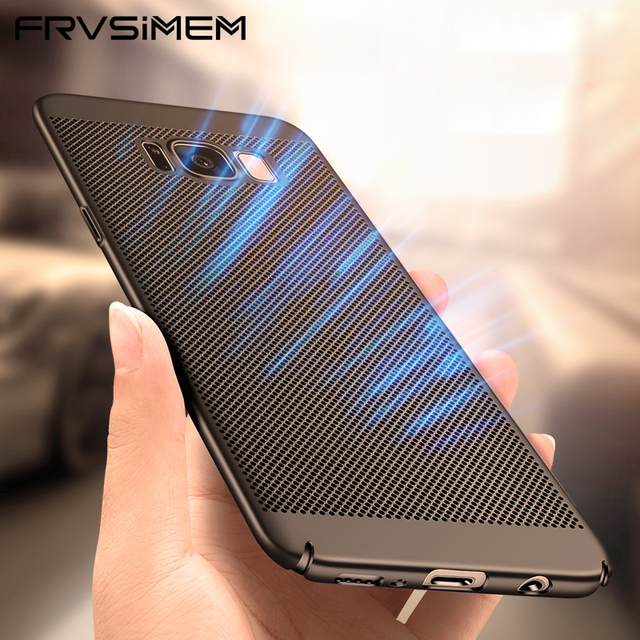 A6 A8 J4 J6 J8 2018 Plus Case For Samsung Galaxy S9 Plus S8 /S8 Plus S7 S6 edge Slim Radiating Matte Hard Shell Phone Cover