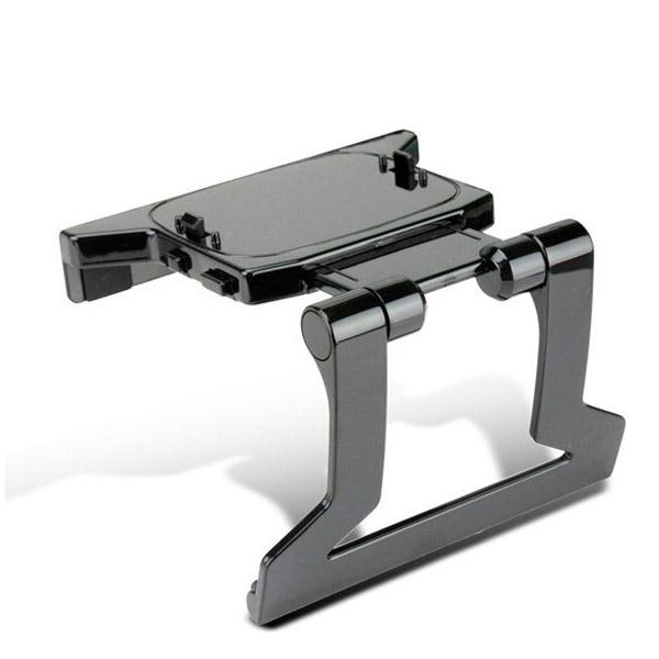 Gasky 1pc TV Clip Clamp Adjustable Mount Mounting Plastic Stand Holder for Xbox 360 Kinect Sensor