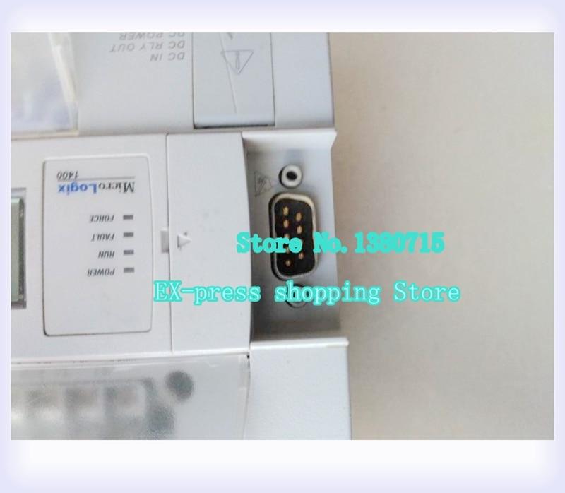 USED 1766-L32BXB PLC 24VDC MicroLogix 1400 Controller 1766 l32bwaa plc 120 240v ac micrologix 1400 controller