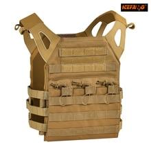 Body Armor Plate Carrier Chaleco táctico Militar Airsoft Paintball Revista Chest Rig Molle Pecho Protector Oso de Carga de Engranajes