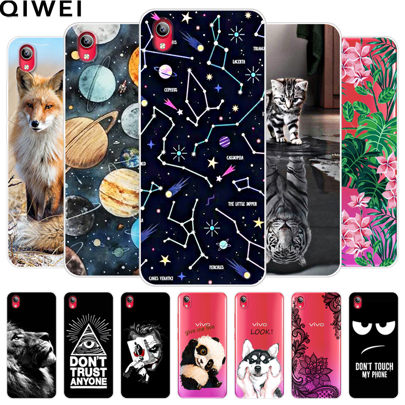 For Vivo Y91i / Y91C Case 6.22'' Cute Animals Painted Soft TPU Phone Cases Coque For Vivo Y91c Silicone Back Cover Capas Y91 C(China)