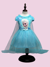 Summer Girl lace dress The Snow Queen Party Costume  Mesh Girls Princess Dress 8 years old teenage girl clothes kids dress tutu