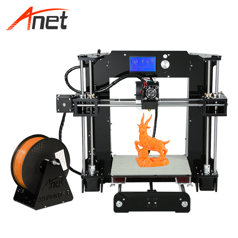 Anet A6 Top Quality Highest Performance 3d Printer Machine Upgraded Prusa I3 DIY Printer Kit Support
