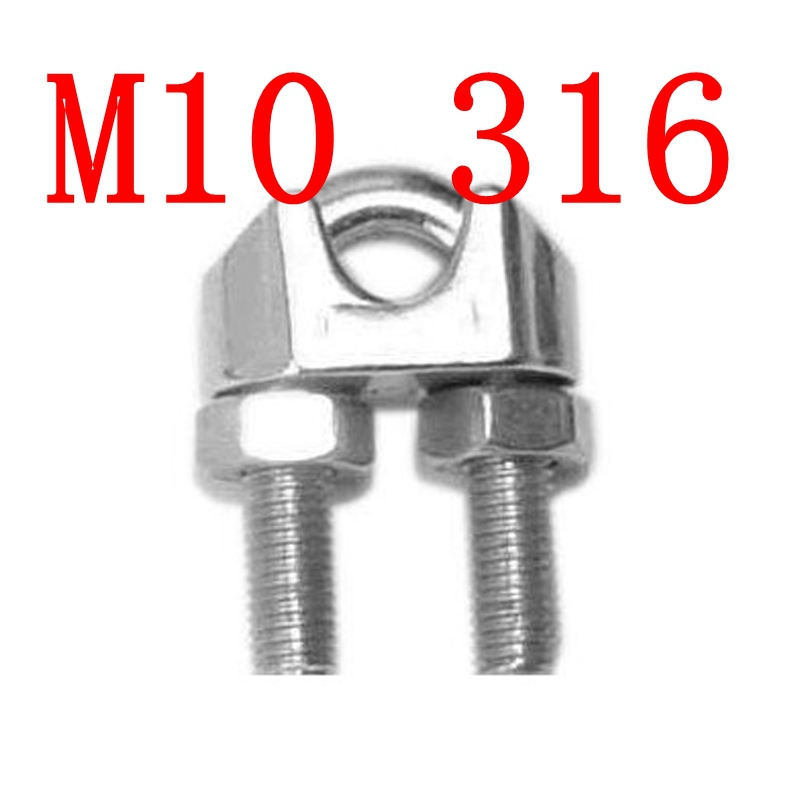 10mm wire clamp wire center m10 10mm stainless steel wire rope grip clip cable clamp ss 316 a614 rh sites google com what wire gauge chart 10mm 10mm wire rope clamp greentooth Choice Image