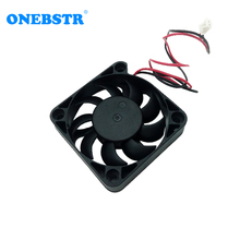 Free Shipping 5010 PH2.0-2Pin Fan DC 5V 0.14A 5cm 50mm 50X50X10mm Brushless Small Power Supply Cooling Length 180mm