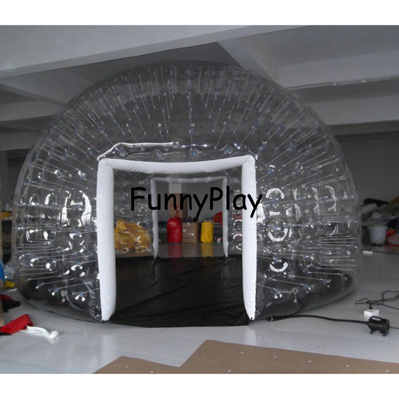 Ambitious Inflatable Show Room For Event,inflatable Tents For Exhibition,luxury Air Tight Inflatable House Tents,clear Camping Bubble Tent