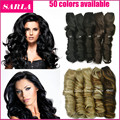 1PC Clip In Hair Extensions 5 Clips 20inch 50cm 130g Synthetic Hair Curly Natural Clip On Hair Extension Free Shipping 888