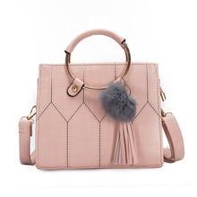 купить New Arrival PU Leather Handbags Casual Women Shoulder Bag Designers Ladies Hand Bags Simple Style Crossbody Messenger Bags по цене 1751.38 рублей