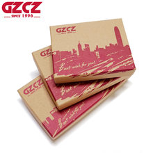 GZCZ Brand Small And Big Paper Gift Box For Women & Men Wallets Box Rectangle Shaped Red Pattern(China)