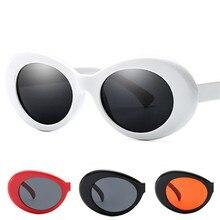 133a44712f8 Imwete Clout Goggles Sunglasses Men Women NIRVANA Kurt Cobain Glasses Male  Small Mirror Glasses Retro White