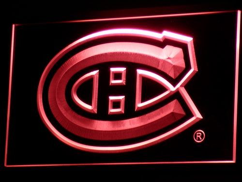 b091 Montreal Canadiens LED Neon Sign