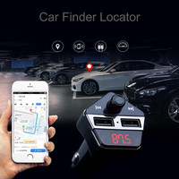 Car Finder Locator Bluetooth Car Kit MP3 Player FM Transmitter USB Charge