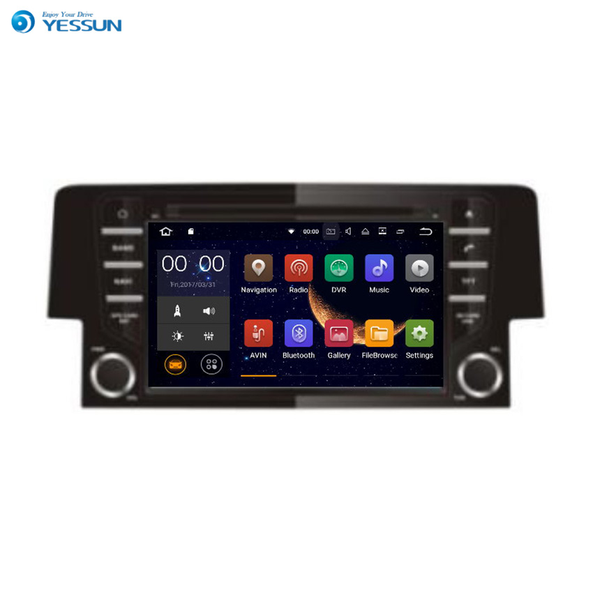 Honda Civic 2019 Indash Navigation Android System: Yessun For HONDA CIVIC 2016~2017 Android Multimedia Player
