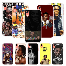 OUTMIX Ynw Melly Scarlxrd Cases Soft Silicone Cover For iPhone SE 5S 6 7 8 6S 7plus 8plus X XS max XR 6plus Protect shell