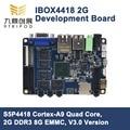 ARM Cortex-A9 Quad-Core S5P4418 Development Board IBOX4418 2G DDR3 8G EMMC WIFI/BT HDMI