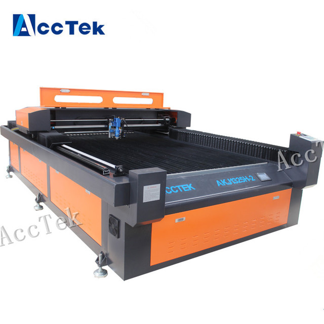 Jinan metal laser cutters with 150w co2 laser tube / laser cutting machine for metal / metal laser cutting machines