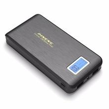 Оригинал Pineng 15000 мАч Dual USB LCD фонарик PowerBank внешние телефоны зарядное устройство мобильный банк питания для iPhone Android
