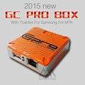 2015 NOVA equipe de GPG suppoart GC Pro Box com 7 cabos Para Samsung Para reparação software Mtk Frete Grátis