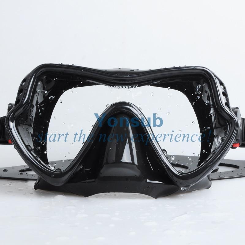 moda Hight Quality Scuba Diving Snorkeling Silikon Maska - Su idmanı - Fotoqrafiya 3