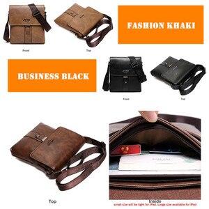 Image 5 - JEEP buuluo marka męska torby skóra Split moda mężczyzna Messenger torby mężczyzna dorywczo Crossbody na ramię torba na iPad Mini klasyczne