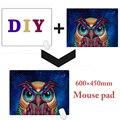 DIY Gaming mouse pad Grande personalizado Mouse Pad Grande Tapete de Mesa personalizado para gta 5/CS/mac 600x450mm