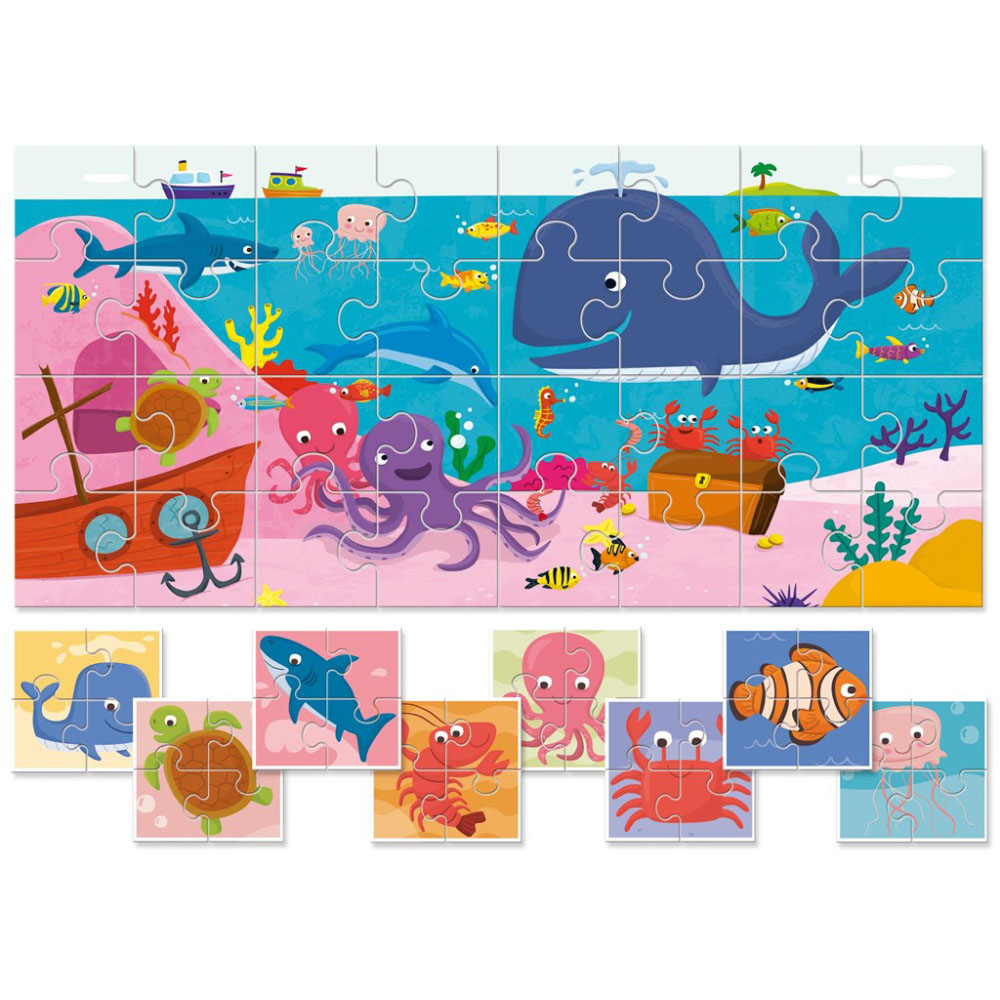 Puzzles LUDATTICA 58204 play children educational busy board toys for boys girls lace maze bon appetit кухонное полотенце cake цвет голубой 40х60 см 2 шт