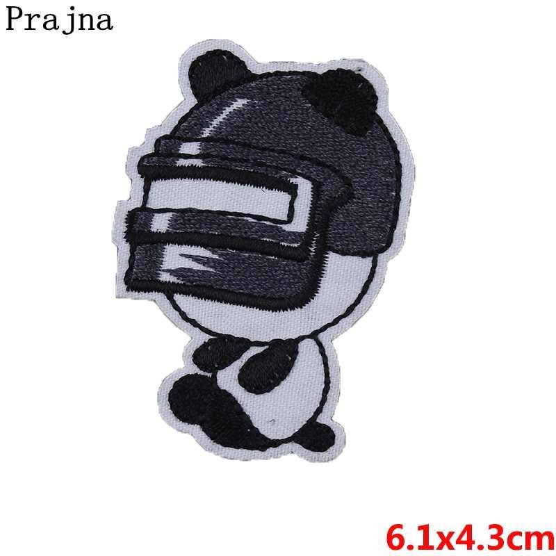 Prajna 귀여운 동물 유니콘 수 놓은 패치 레인보우 과일 바느질 패브릭 스티커 만화 패치 아이 옷 장식에 철