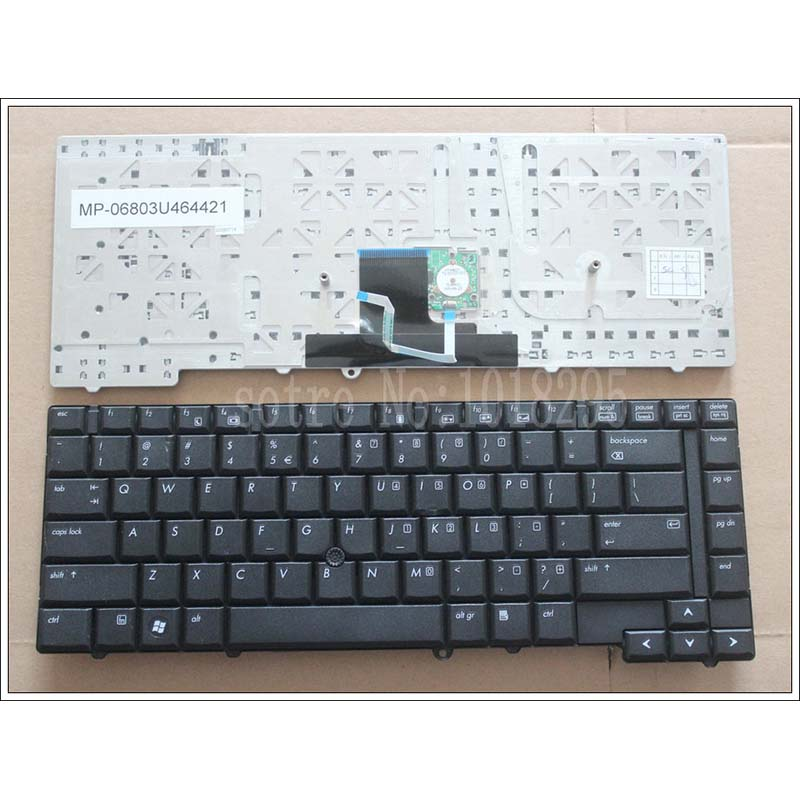 NEW US Laptop Keyboard for HP 8530 8530W 8530P Keyboard image