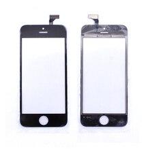 Черный смартфон с сенсорным Экраном для iphone 5 5g Панель Стекла Digitizer Замена Датчика