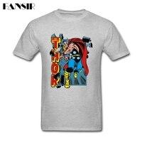 Quadrinhos O Poderoso Thor T-shirt da Camisa Camisas Dos Homens T de Multi-cor homens do Homem Personalizado Algodão de Manga Curta Roupas Tamanho Grande Para adolescente