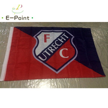 Netherlands Utrecht FC 3ft*5ft (96*144cm) Size Christmas Decorations for Home Flag Banner Type B Gifts