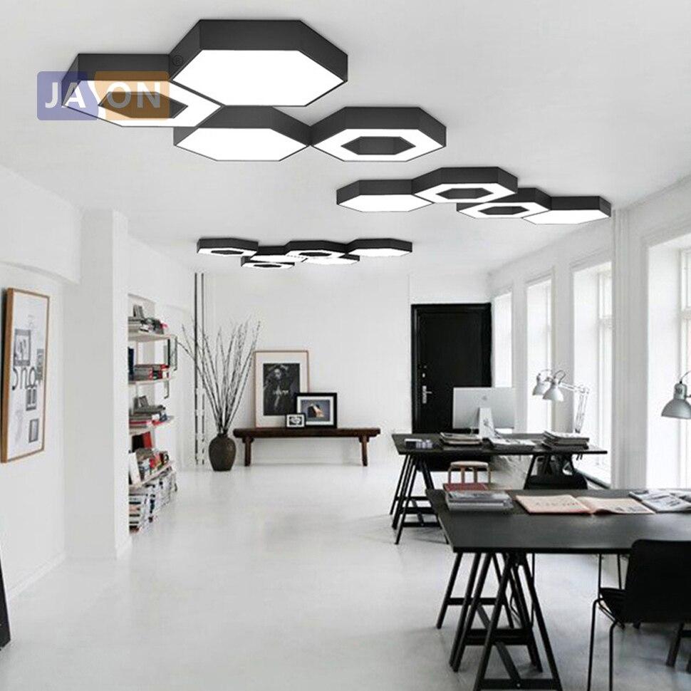 LED skandynawskie geometryczne żelaza akryl DIY połączenie lampy LED. Światło LED. Lampy sufitowe. Lampa sufitowa LED. Lampa sufitowa do hali Foyer