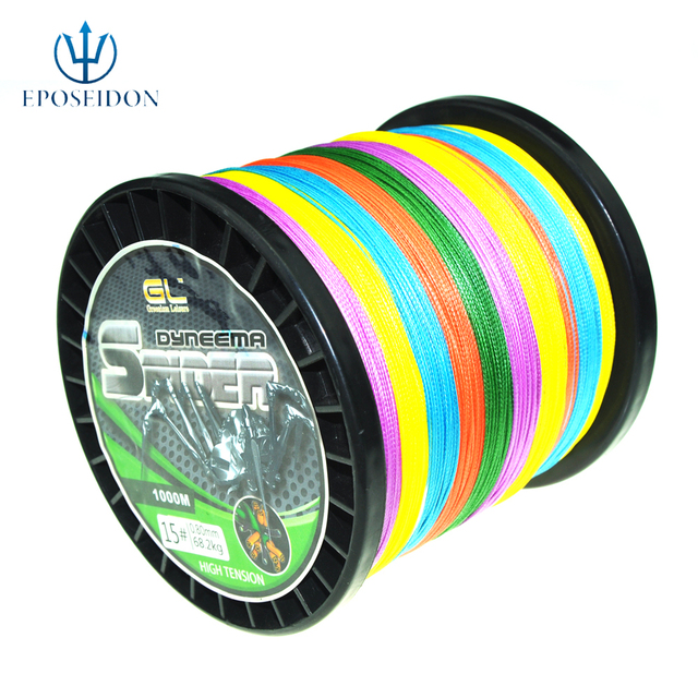 No.1 Quality&service  500M  8 STRANDS EXTREME STRONG BRAIDED PE FISHING LINE   100 120 150LB