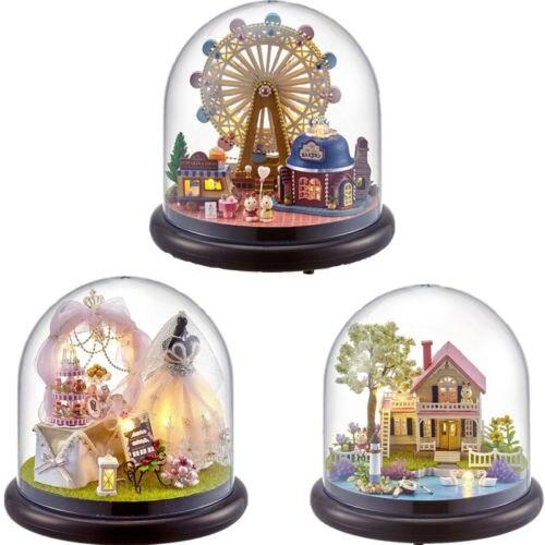 Crystal, Ferris, Wheel, Kit, Happiness, Assembled