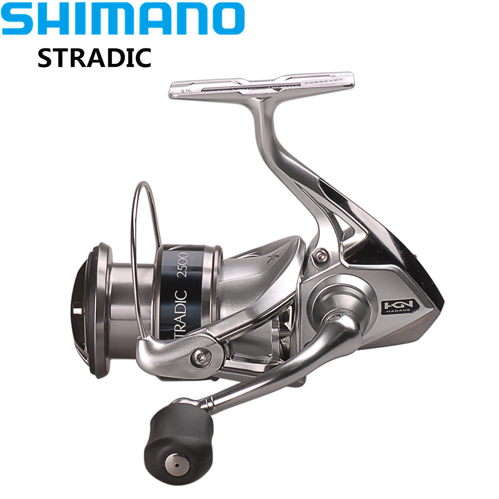 Reel Shimano STRADIC FK2500HG/C3000HG/4000XG/C5000XG Spinning Fishing Reel 6.0:1/6.2:1 AR-C Spool Moulinet Peche Fishing Reels 100% original shimano alivio spinning fishing reel 1 1bb with original nylon fishing line ar c spool rigid body fishing reels
