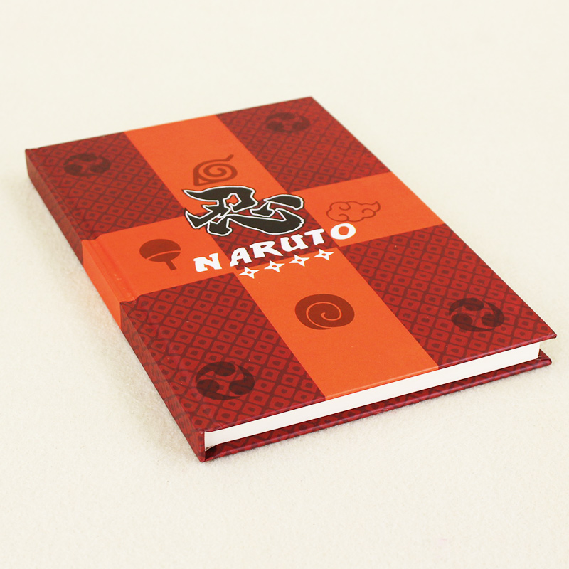 Hot Anime NoteBook Naruto Notebook Note Pocket-Book Collection Cosplay Travel Diary For childrens Gifts Free shipping