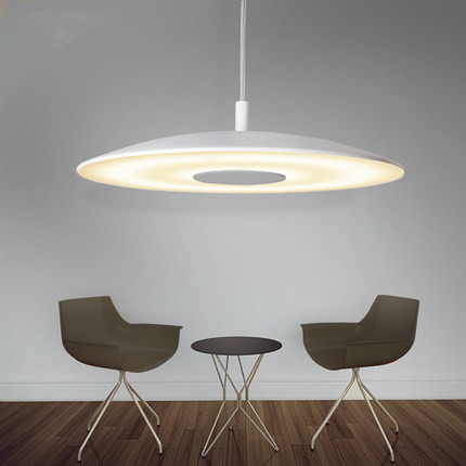 modern led white UFO pendant light aluminum for dining room living room coffee shop droplightmodern led white UFO pendant light aluminum for dining room living room coffee shop droplight