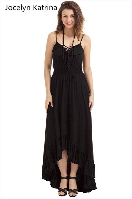 Jocelyn katrina marke Sommer hochwertige harness sleeveless ruffled ...