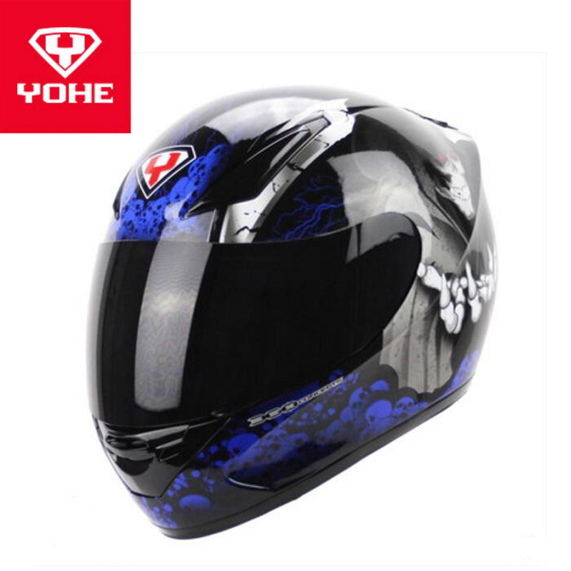 2018 Winter New Ece Certification Yohe Speed Motorcycle Helmets Yh991 Full Face Motorbike Helmet Made Of Abs And Pc Lens Visor