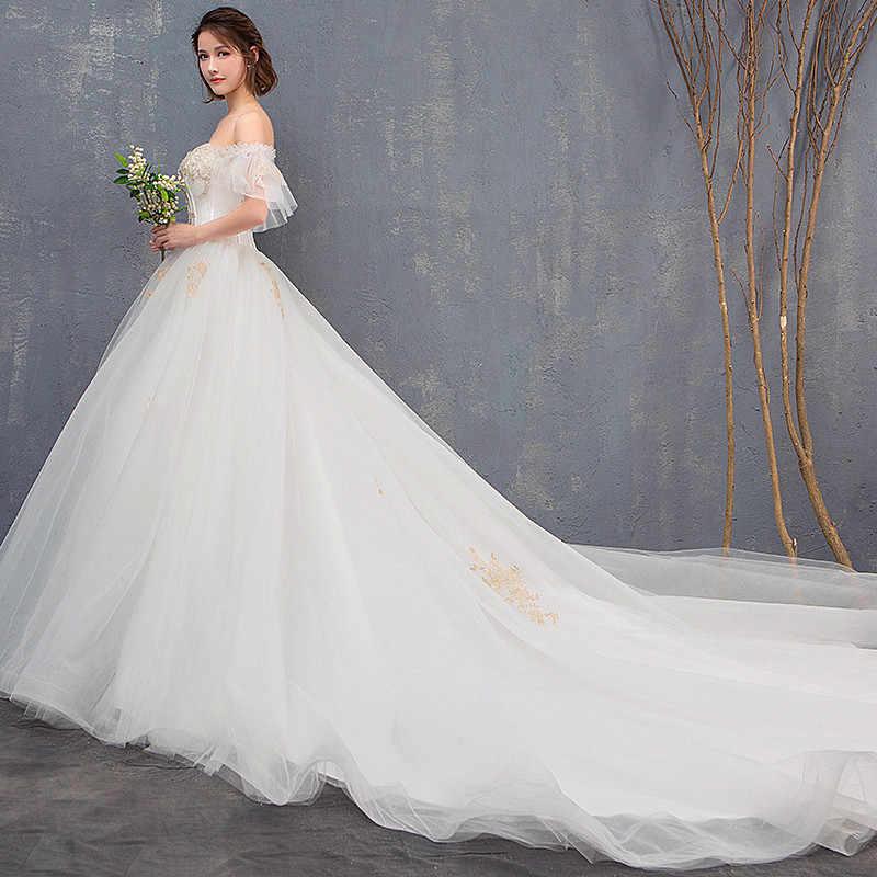 d676d86060e ... Maternity Dress High Waist Pregnancy Maternity Wedding Plus Size Bride  Wedding Gown Long Trailing Princess Dreamy ...