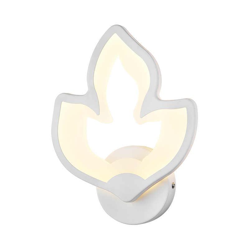 Новый светодио дный светодиодный настенный светильник спальня рядом настенный светильник в помещении Гостиная Столовая украшения освещение лестница коридор светильники