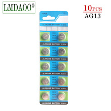10 шт. AG13 LR44 LR1154 SR44 A76 357A 303 357 LR44W Battery держатели для 1,55 V щелочные батареи для часы игрушки Перевозка груза падения